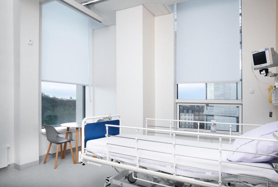 Leading Scandinavian hospital by Kvadrat Shade   Manufacturer references