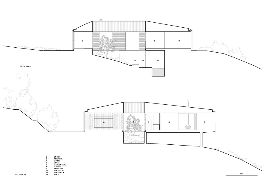 Federal House by Edition Office   Detached houses