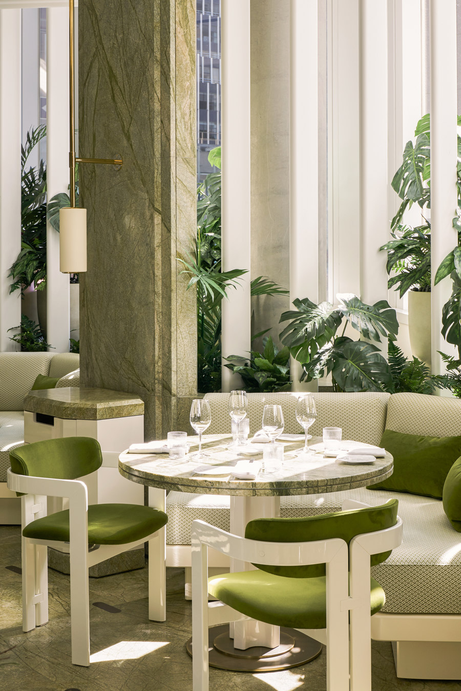 Le Jardinier by Joseph Dirand Architecture | Restaurant interiors
