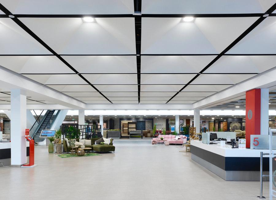 New Construction of Möbel Martin Saarbrücken by Tobias Link   Shop interiors