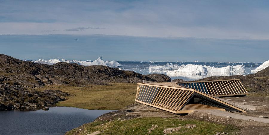 Ilulissat Icefjord Centre by Dorte Mandrup Arkitekter | Trade fair & exhibition buildings