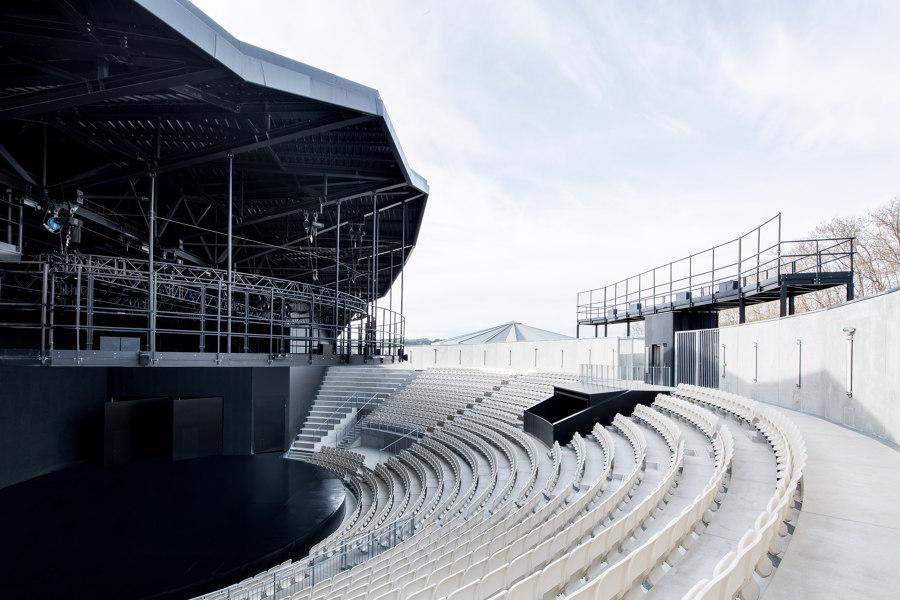 Domaine De Bayssan Auditorium And Open-air Amphitheater by K Architectures   Theatres