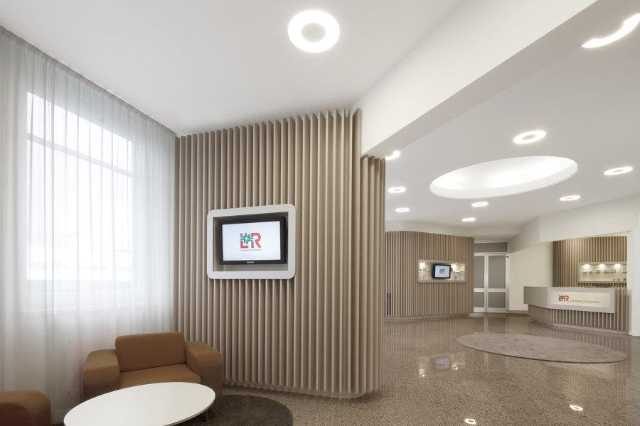 Lohmann & Rauscher by destilat | Office facilities