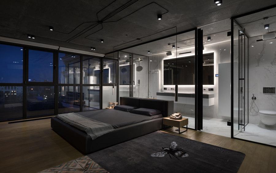 The Mod Apartment by Sergey Makhno Architects | Living space