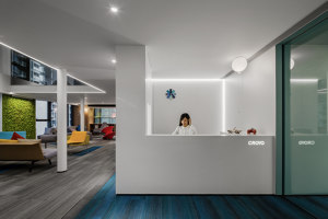 CROYO Headquarter Office | Office facilities | Shenzhen Super Normal Design