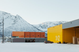 Holmen Industrial Area | Industrial buildings | Snøhetta
