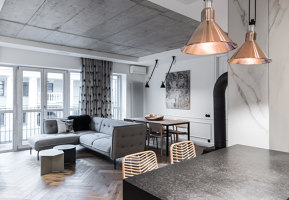 Family's Flat in Užupis | Living space | Dizaino Virtuve