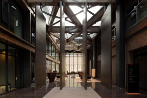 Interior Pivot Doors – The New Atrium | Manufacturer references | FritsJurgens