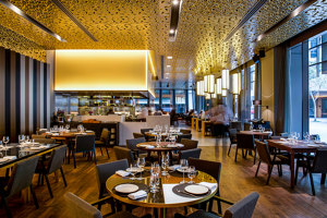 LaLuz Restaurant | Manufacturer references | Tacchini Italia
