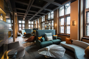 The Fourth, Tafelrond Hotel | Manufacturer references | Tacchini Italia
