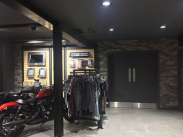 Point de vente Harley-Davidson | Manufacturer references | Rondine