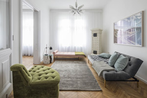 Apartment B | Living space | destilat