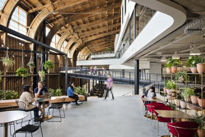 Google, Spruce Goose | Office facilities | ZGF Architects LLP