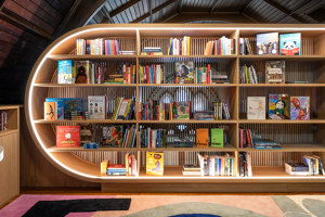 The Children's Library at Concourse House | Wohnräume | MICHAEL K CHEN ARCHITECTURE MKCA
