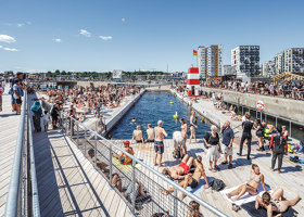 Aarhus Harbor Bath | Open-air pools | BIG / Bjarke Ingels Group