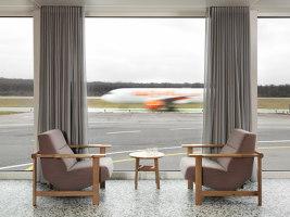 VIP pavilion for Geneva Airport | Club interiors | Frédéric Dedelley