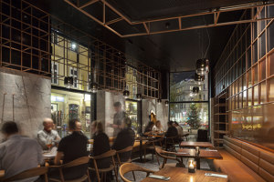 Hotel DAS TRIEST, PORTO Bar | Café interiors | BEHF Architects
