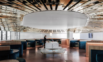 Air France business lounge | Café interiors | Mathieu Lehanneur