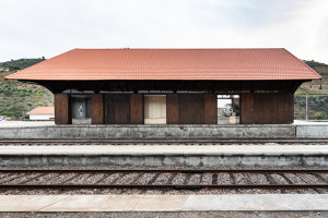 Tua Valley Interpretive Centre | Railway stations | Rosmaninho+Azevedo Architects