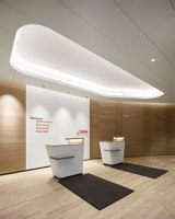 Swiss First Class Lounge Terminal A | Club interiors | greutmann bolzern designstudio