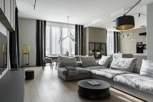 Flat in Saint Petersburg | Living space | HEUT Architects