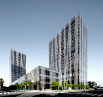 Qiantan District Towers, Lot 41 | Office buildings | FGP Atelier