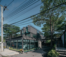 Muangthongthani Carcare | Office buildings | Archimontage Design Fields Sophisticated