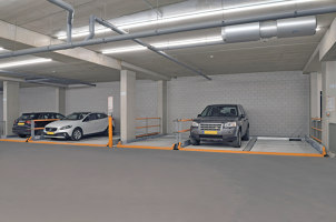 Parking in Holland Park | Manufacturer references | KLAUS Multiparking
