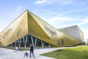 La Fontaine Multisports Complex in Antony | Sports halls | archi5