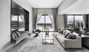 Hangzhou Vanke Liangzhu Junxi Mountain Villa Show Flat | Living space | MDO