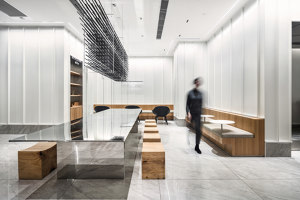 HEYTEA at Zhengzhou Grand Emporium | Café interiors | MOC Design Office