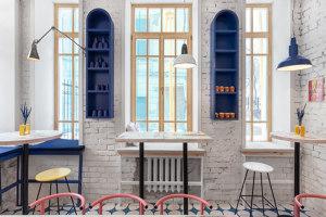 Abu Ghosh | Intérieurs de restaurant | Studio SHOO