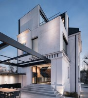 White Concrete Old House | Detached houses | I/O architects