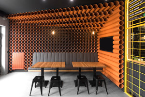 ChiChi 4U - Batorego | Restaurant interiors | mode:lina architekci