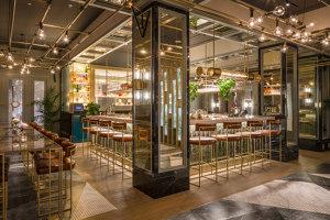 Juliet Rose at the Hilton Hotel | Bar interiors | Goddard Littlefair