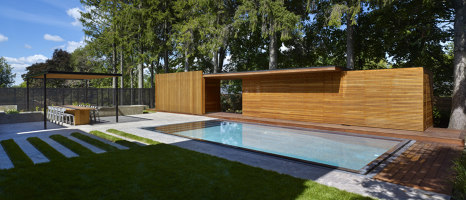Clearview Pavilion | Open-air pools | Amantea Architects