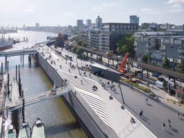 Niederhafen River Promenade | Infrastructure buildings | Zaha Hadid Architects