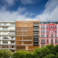 Lisbon Wood Residential Building | Apartment blocks | Plano Humano Arquitectos