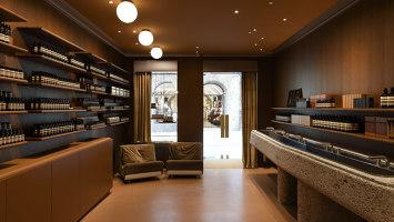 Aesop Getreidegasse   Shop interiors   Jakob Sprenger Interior