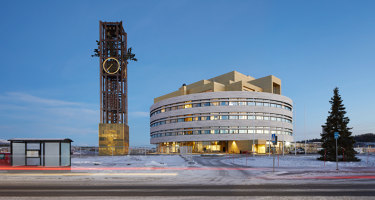 Kiruna Town Hall - The Crystal | Administration buildings | Henning Larsen Architects