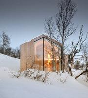 Split View Mountain Lodge   Detached houses   Reiulf Ramstad Arkitekter