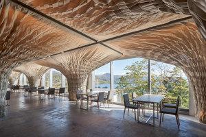 WE Hotel Toya | Hotel interiors | Kengo Kuma