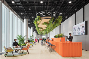 AmorePacific F21 | Office facilities | KINZO Design Studio