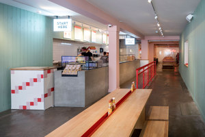 Salsa Shop | Restaurant interiors | Ninetynine