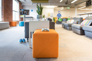 Case Study: Reducing Noise in an Open Office - Puppet Labs | Manufacturer references | BuzziSpace