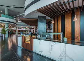The spectacular Discovery Place in Johannesburg has chosen Fap Ceramiche's marble-effect porcelain stoneware | Manufacturer references | Fap Ceramiche