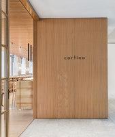 Cortina | Restaurant interiors | Heliotrope Architects