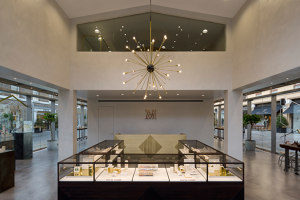 Monica Vinader London   Shop interiors   EMULSION