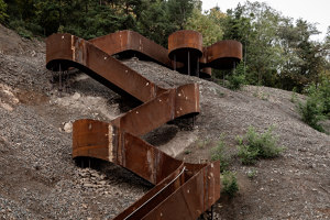 Chemin des Carrières | Monuments/sculptures/viewing platforms | Reiulf Ramstad Arkitekter