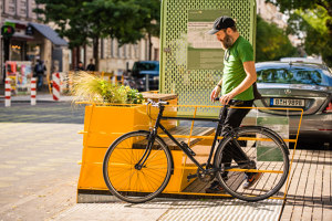 Parklets 2.0 Car-free city | Manufacturer references | Vestre